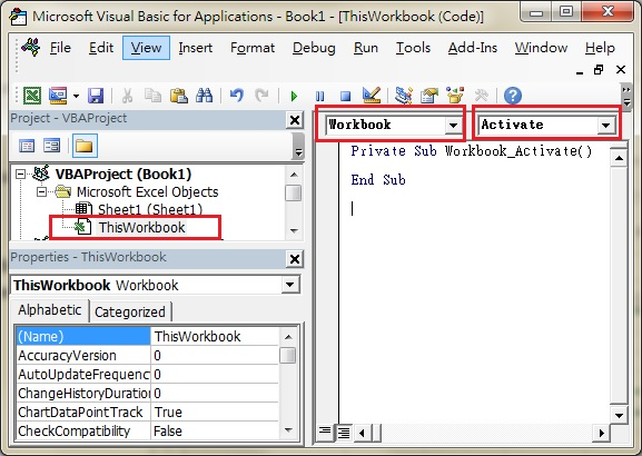 Excel Workbook.Activate Event - Access-Excel.Tips