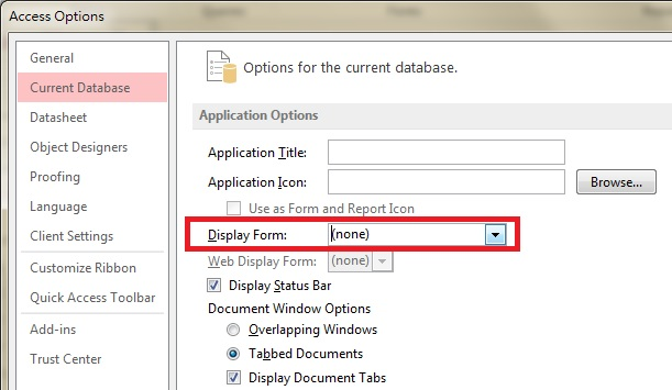 Auto Run Access Form using AutoExec - Access-Excel Tips