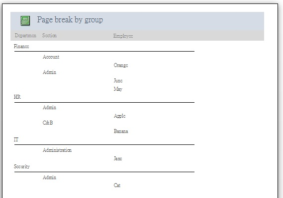 access_report_page_break