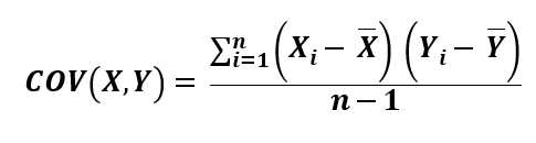 What is the COVARIANCE.S Function?
