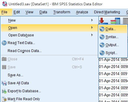 spss-import-text-01 Tab Delimited Format Example on csv vs, file type,
