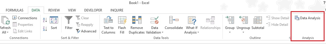 Excel Analysis Tookpak 05