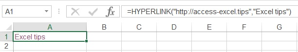 excel hyperlink 02