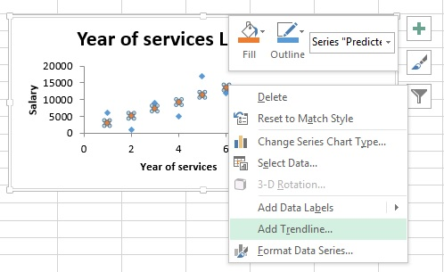 SPSS Excel Linear Regression 07