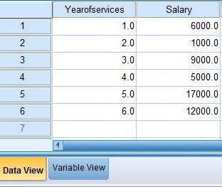 SPSS Excel Linear Regression 09