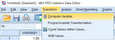 SPSS generate random number (decimal and whole number)