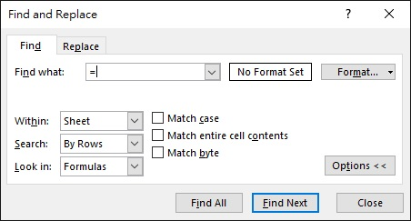 Excel get formula of a cell 06