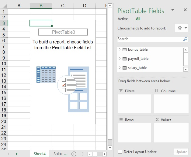 powerpivot cannot create relationship duplicate checks