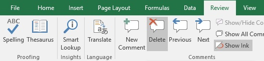 Excel delete all comments in Workbook with and without VBA – Vba Delete Worksheet