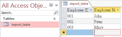Access-Excel tips